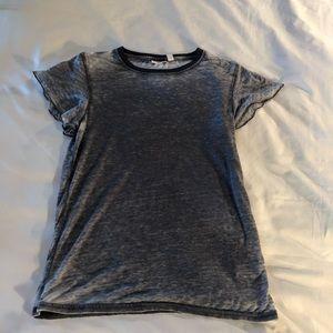 Nordstrom BP Blue Burnout T-Shirt